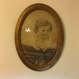 Bubble glass antique photo