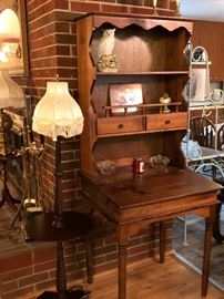 Vintage Bookcase Secretary