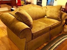 Micro Fiber Loveseat Sofa Bed