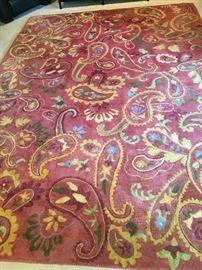 Company C wool 8X11 Multi Manjari rug