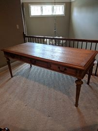 Library table with 6 drawers
