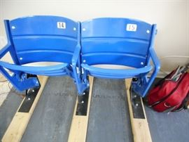 Original Veteran Stadium Seats