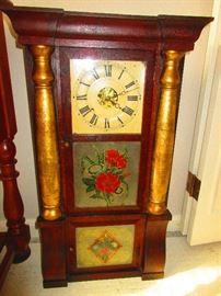 Triple decker mantle clock by Seth Thomas c. 1840's