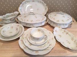 Original Limoges china, multiple pieces. Excellent condition.