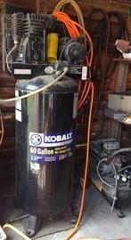 Kobalt 60 Gallon Air compressor