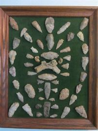 Awesome collection of Arrowheads and Spearheads