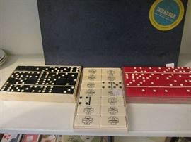 Vintage Bakelite and Celluloid Dominoes