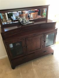 Wow, great Buffet.  Beautiful piece could be used as a secretary.  Excellent Storage Cabinet as well!!