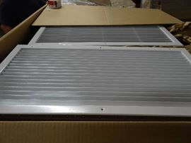 """Case of (15) Wall Register Fits 30"""" X 13 1/2"""""""
