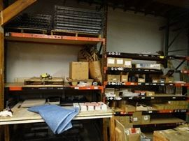 2 Sections Of Pallet Racking With (8) Total Shelve ...