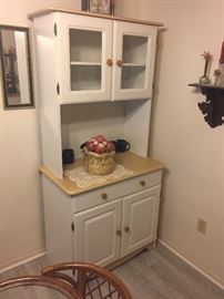 Wonderful Hoosier style cabinet