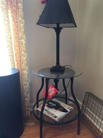 industrial style stool/table