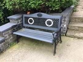 Nice yard bench
