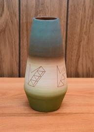 "BUY IT NOW! $100 - Southwest Pottery Vase (9.5"" H)"