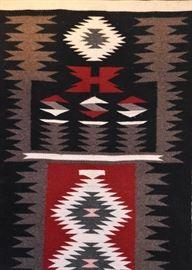 """BUY IT NOW! $500 - Navajo Rug (Wide Ruins/Crystal) - 57.5"""" x 29.5"""""""