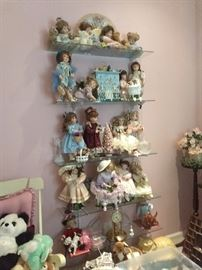 just a few of the dolls