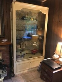 Large display cabinet.