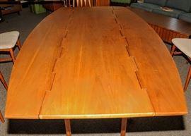 "KIPP STEWARD ""PARALLEL"" TABLE FOR DREXEL  ~ NOTE WOODEN HINGES"