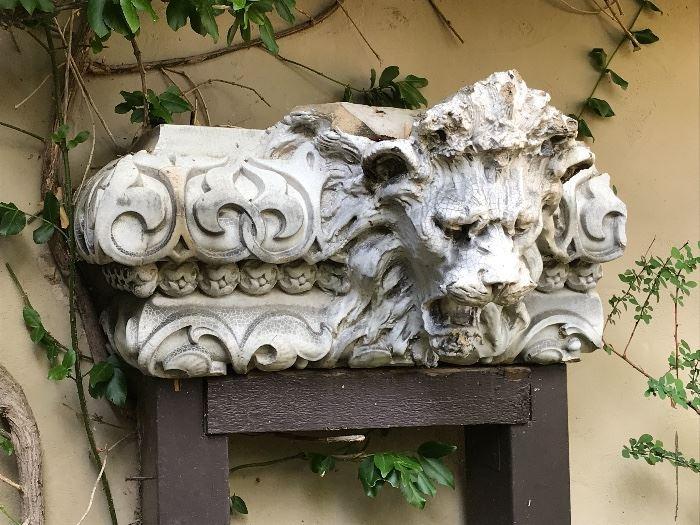 Antique Terracotta Architectural Salvage
