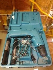 Makita 6095D DC9.6V 0-1100/0-400 RPM