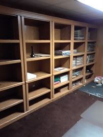 Several Sturdy bookcases