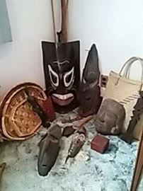 Baskets, Spears and Masks