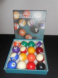 ivoryite billiard balls