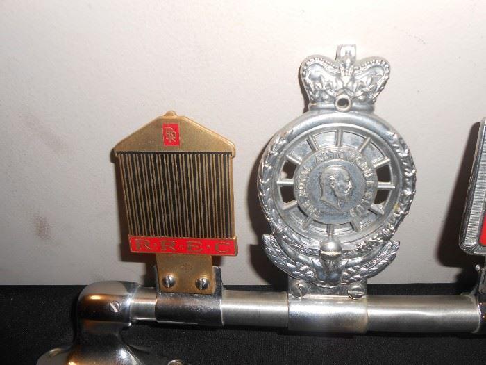 RREC & RAC desmo car badges