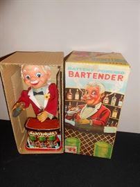 vintage Rosko bartender in box