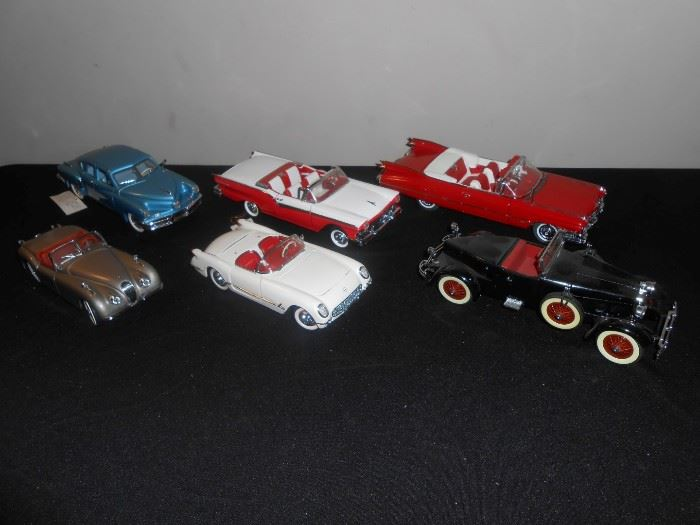 diecast cars w/ boxes