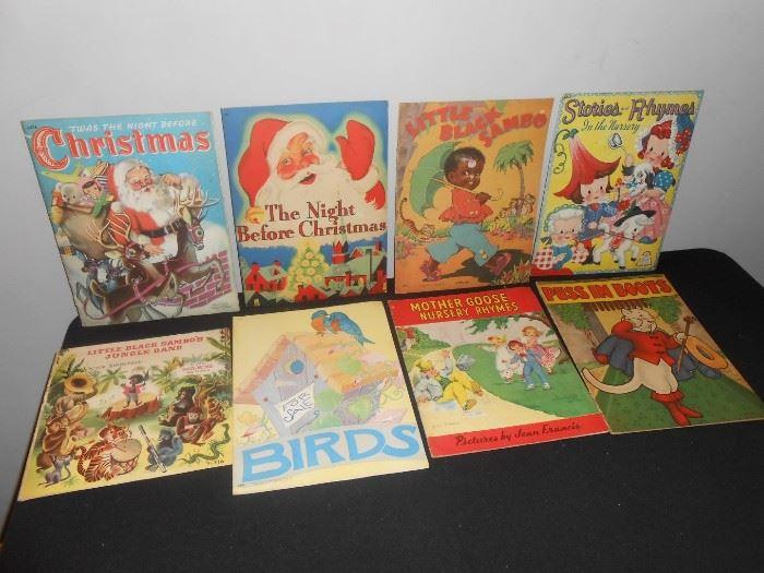1940's cloth-like children's books