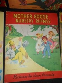1940's Mother Goose