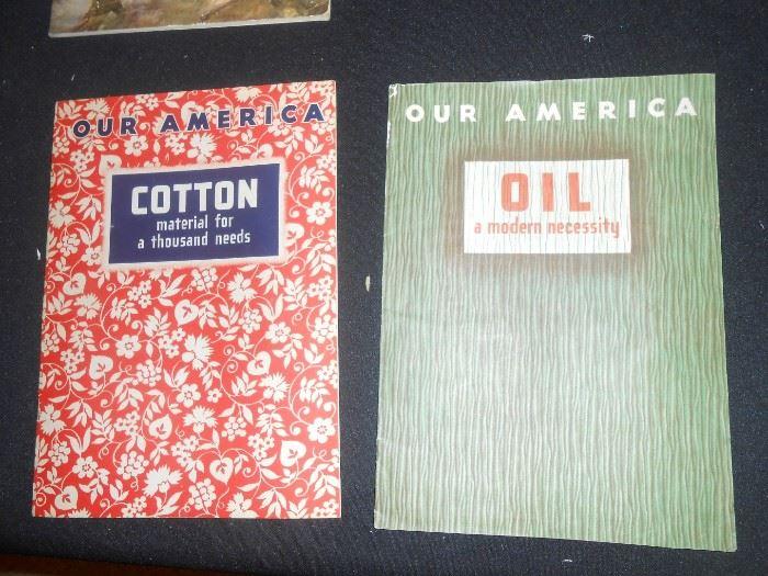 1943 Coca-Cola Our America booklets