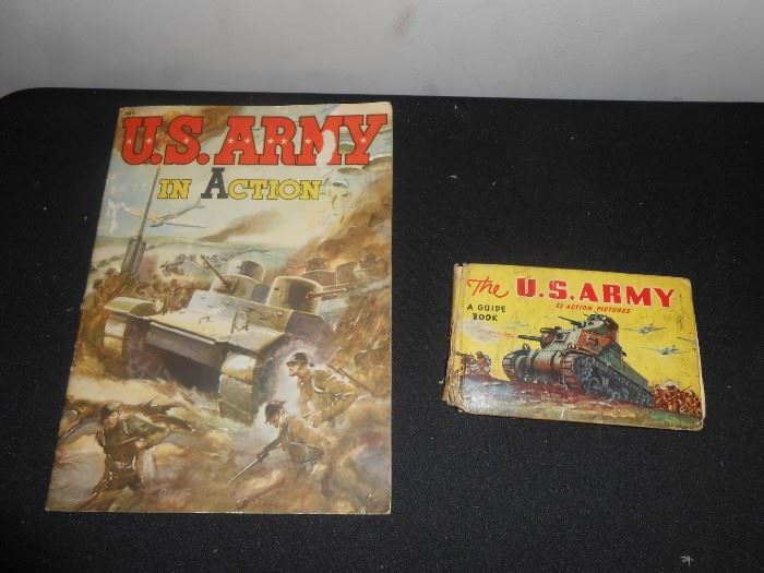 1942 US Army books