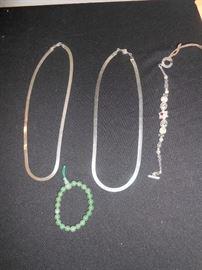 sterling & jade jewelry