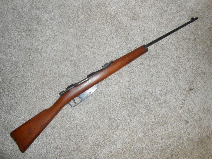 italian carcano rifle