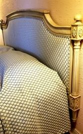 custom upholstered king bed