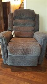 Electric Recliner with heat and massage feature