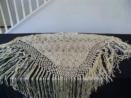 hand made shawl from Columbia 1973
