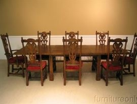 This is the same set with different upholstery pulled from off line.