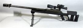 Armalite AR-50 A1 Bolt-Action Rifle, .50 BMG, SN# 373891, Bipod, Pistol Grip, Decelerator Recoil Pad