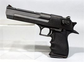 Magnum Research Desert Eagle Pistol, .50AE, SN# 102184, Israel Military Industries LTD, Includes 1 Mag