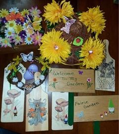 Fairy doors and fairy signs too