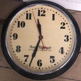 Org Postal Telegraph Clock heavy