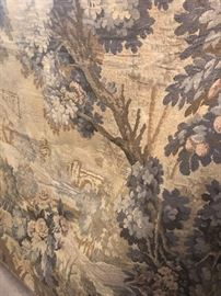 antique wall tapestry large