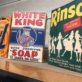 assortment of soap boxes