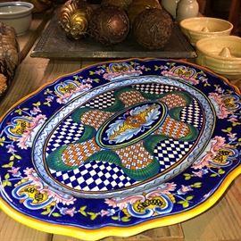 italy platter...few
