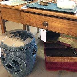 table/desk w/drawer (2)