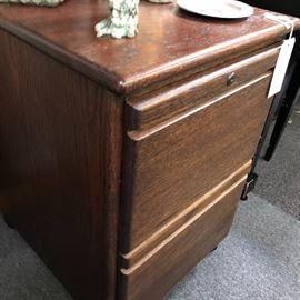 wood File 2 drawer