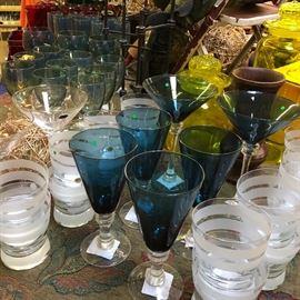 new glassware much